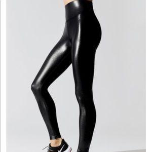 Carbon38, black, full length leggings, size M